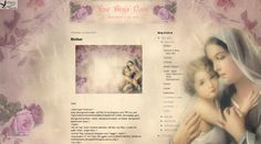 Elegia's Background Garden: Mother and Child Background and headers