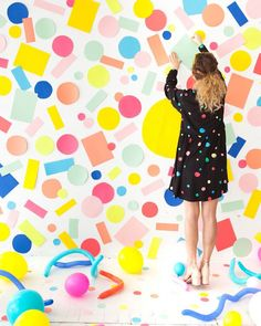 Wall design ideas for a party, wedding and other festive events - DIY Decorations Party Kulissen, Party Wedding, Party Ideas, Diy Photo Backdrop, Photo Backdrops, Backdrop Ideas, Diy Confetti, Party Photography, Outdoor Photography