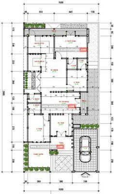 Desain Rumah Tropis Minimalis di Lahan 10x20 meter - Jasa Desain Rumah