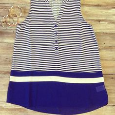 We love this tank in royal blue too!! $34.95!