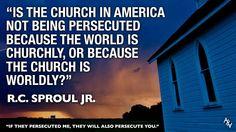 Excellent point. ~ R.C. Sproul Jr.