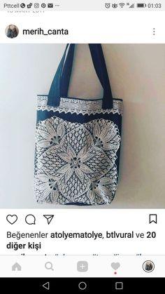 Denim bag. Handmade