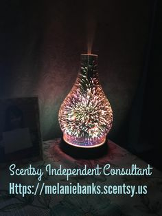 Contact me today to get yours!   Https://melaniebanks.scentsy.us