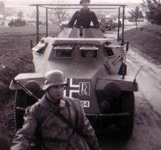 Sd.Kfz. 223 Mg 34, Radios, Armored Vehicles, Armored Car, Germany Ww2, Ww2 Photos, Military Equipment, German Army, World War Ii