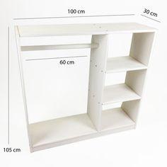 Closet Infantil Montessori Provençal! - Tadah! Design