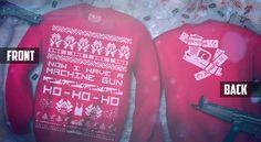 Now I Have A Machine Gun Ho-Ho-Ho #Christmas Sweater $44
