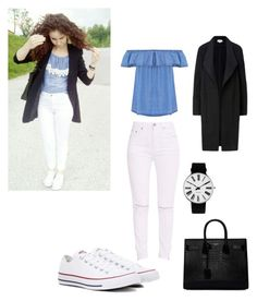 """""""Untitled #29"""" by dedic-elvira ❤ liked on Polyvore featuring Converse, Yves Saint Laurent and Rosendahl"""