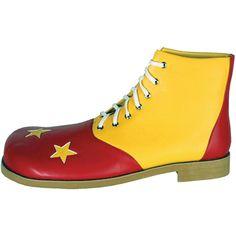 Deluxe Professional Clown Shoes - OrientalTrading.com Zapatos De Payaso 9ea42ae98216