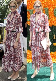 Olivia Palermo at the 9th Annual Veuve Clicquot Polo Match in Jersey City on June 4, 2016