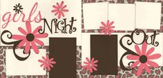 Girls Night Out Page Kit