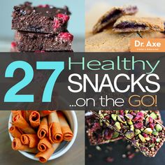 Healthy Snacks On-the-Go http://www.draxe.com #health #Holistic #natural