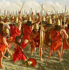 Battle of Leuctra, artwork by J. Shumate. The Battle of Leuctra (or Leuktra) was a battle fought on July 6, 371 BCE, between the Boeotians led by Thebans and the Spartans along with their allies amidst the post-Corinthian War conflict. The battle took place in the neighbourhood of Leuctra, a village in Boeotia in the territory of Thespiae. The Theban victory shattered Sparta's immense influence over the Greek peninsula which Sparta had gained since its victory in the Peloponnesian War.