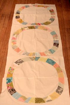 A more relaxed version of the Single Girl quilt - with very nice results