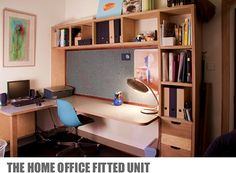 Modern Woodworking Solutions from Nick McAuley Plywood Shelves, Spare Room, Home Office, Corner Desk, Shelving, Woodworking, Study, House Design, Storage