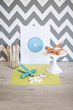 Rainy Day Crafts for Kids for DIY Network | The TomKat Studio.  Marshmallow catapults