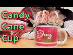 In this video, Tracey shows you how to use a cup and turn it into a simple and economical gift for Christmas. Video edited by Bill Phillips. Music created by. Why Christmas, Baby Christmas Gifts, Baby Shower Hostess Gifts, Video Editing, Craft Fairs, Candy Cane, Happy Holidays, Make It Yourself, Check