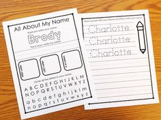 Editable names unit for helping KINDERGARTEN students learn their names. Names…