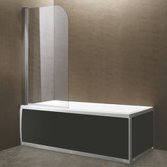 European Glass Bathtub Screen