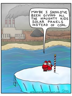 Climate Change and Santa's North Pole