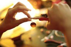 Mythika Handmade Jewelry in the studio - Priya Jhavar Handmade Jewelry, Joy, Studio, Handmade Jewellery, Glee, Jewellery Making, Studios, Being Happy, Diy Jewelry