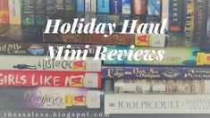 Holiday Haul Mini Reviews: Unconditional love and hope, those themes were definitely my favorites. :)