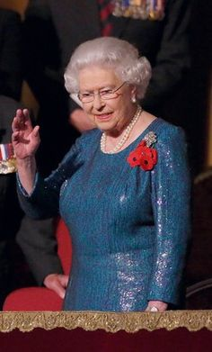Queen Elizabeth II watches The Royal British Legion's Festival of Remembrance at Royal Albert Hall on November 2014 in London, England. Hm The Queen, Her Majesty The Queen, Save The Queen, Elizabeth Philip, Queen Elizabeth Ii, Royal British Legion, Queen Esther, November 8, Prince Phillip