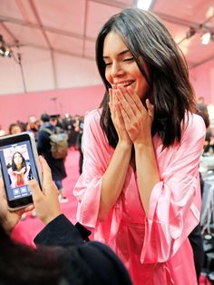 Kendall Jenner on her Victoria's Secret fashion show outfits.