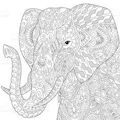 Die 121 Besten Bilder Von Elefanten Elefanten Ausmalbilder Und
