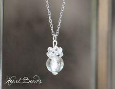 Cluster Necklace, Semi Precious Gemstones, Glass Beads, Drop, Pearls, Facebook, Crystals, Silver, Handmade