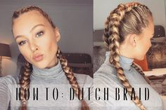 THUMBS UP FOR MORE HAIR TUTORIAL VIDEOS!! --------------------------------------------------------------------------------- Hi everyone, this is how I dutch ...