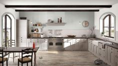 I created this Rustic Country kitchen using Design By What Matters by Benjamin Moore. What's your design personality? #BenjaminMoore #DBWM