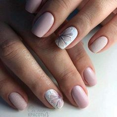 38 indispensable options of manicure with a square shape of nails