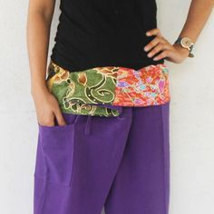 patchwork  fold-over with purple  full length  by meatballtheory