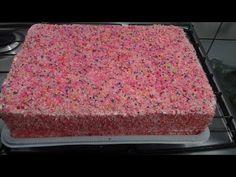 Pão de Ló para Bolos de Aniversário Passo a Passo - YouTube