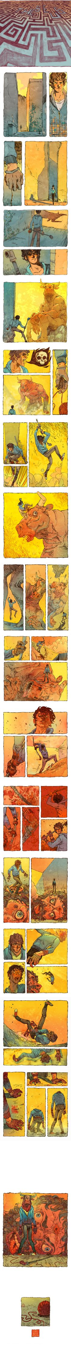 THESEUS: FULL COMIC by ~JakeWyatt on deviantART
