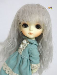 TML-01B Lati Doll Heat Resistant Fiber Wig 5-6 BJD by toymalaysia