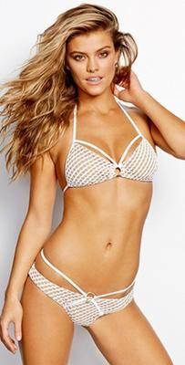 Beach Bunny 2015 Caught Up Triangle Bikini