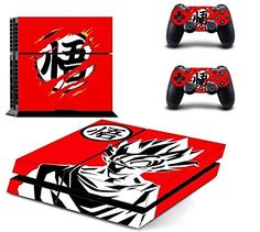 cool Video Games & more - TFSM Branded Goku PS4 Play Station 4 Vinyl Skin Sticker #Video #Games Check more at http://rockstarseo.ca/video-games-more-tfsm-branded-goku-ps4-play-station-4-vinyl-skin-sticker-video-games/