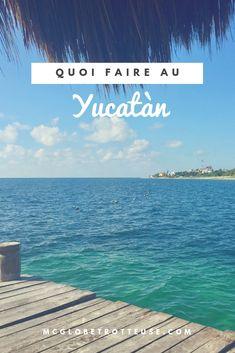 Quoi faire au Yucatàn au Mexique? Sortez des sentiers battus, visiter des petits villages et des cenotes impressionnants! Pourquoi aller dans un tout-inclus quand il y a tant à voir sur la péninsule mexicaine? Un beau voyage à faire pour se sauver de l'hiver! #mexique #yucatan #plage #villages