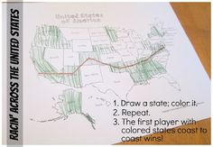 Geography for Kids: Relentlessly Fun, Deceptively Educational: Racin' Across the United States [a Geography game] Geography Games, Geography For Kids, Geography Lessons, Teaching Geography, World Geography, 5th Grade Social Studies, Teaching Social Studies, Teaching Tools, History For Kids