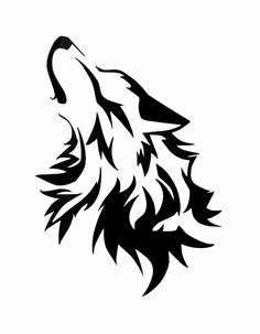 wolf howling at the moon coloring pages | Commision Howling Wolf By Wolfsouled clip art