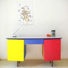 12 Rad Color Block Furniture Tutorials  Brit   Co
