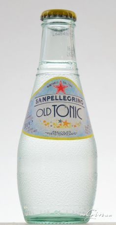 San Pellegrino Old Tonic comes from a brand perhaps best known for their combinations of Tonic Water, Gin And Tonic, Cocktail Recipes, Cocktails, Mineral Water, San Pellegrino, Fall Recipes, Glass Bottles, Lemonade