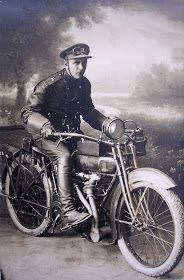 vintage everyday: Motorcycles of The Russian Empire