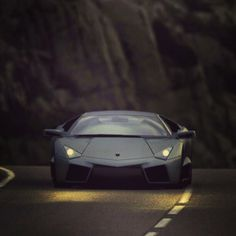 Imagine this beast coming at you!- Lamborghini