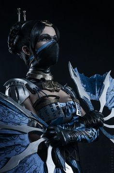 Kitana cosplay from Mortal Kombat X by KitanaStore on Etsy Cosplay, or cosplaying is, by definition, a form of dress up or costume play. Cosplayers dress up in costumes that usually are based aroun… Mortal Kombat Cosplay, Art Mortal Kombat, Kitana Mortal Kombat, Mortal Kombat Tattoo, Mortal Kombat X Characters, Wallpaper Mortal Kombat, Kitana Cosplay, Liu Kang, Mileena