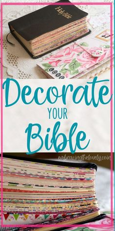 Christian Living:Decorate your Bible with These Creative Washi Tape Bible Divider Tabs and Make it Easy To Navigate Your Bible with Embracing the Lovely Bible Journaling For Beginners, Bible Study Journal, Scripture Study, Scripture Journal, Art Journaling, My Bible, Bible Art, Bible Quotes, Wisdom Quotes