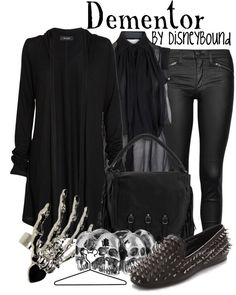 """Dementor"" by lalakay ❤ liked on Polyvore"