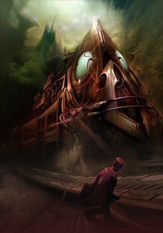 All aboard by maronski.deviantart.com on @deviantART