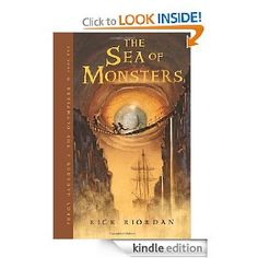 The Sea of Monsters (Percy Jackson and the Olympians, Book 2)   Rick Riordan